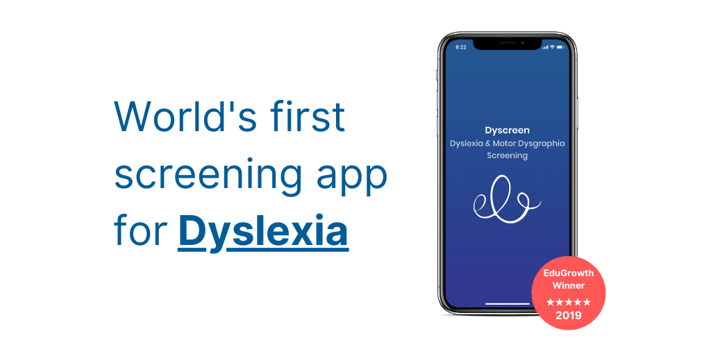 Dyscreen dyslexia screening app