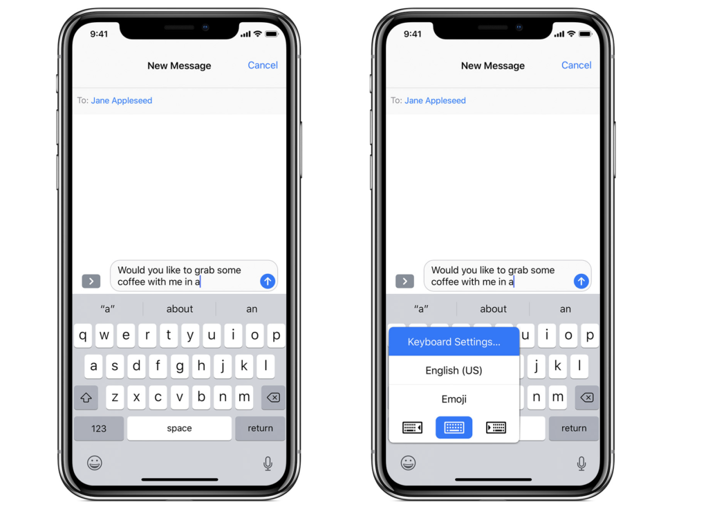 Predictive text one of accessible features for dyslexics on apple devices