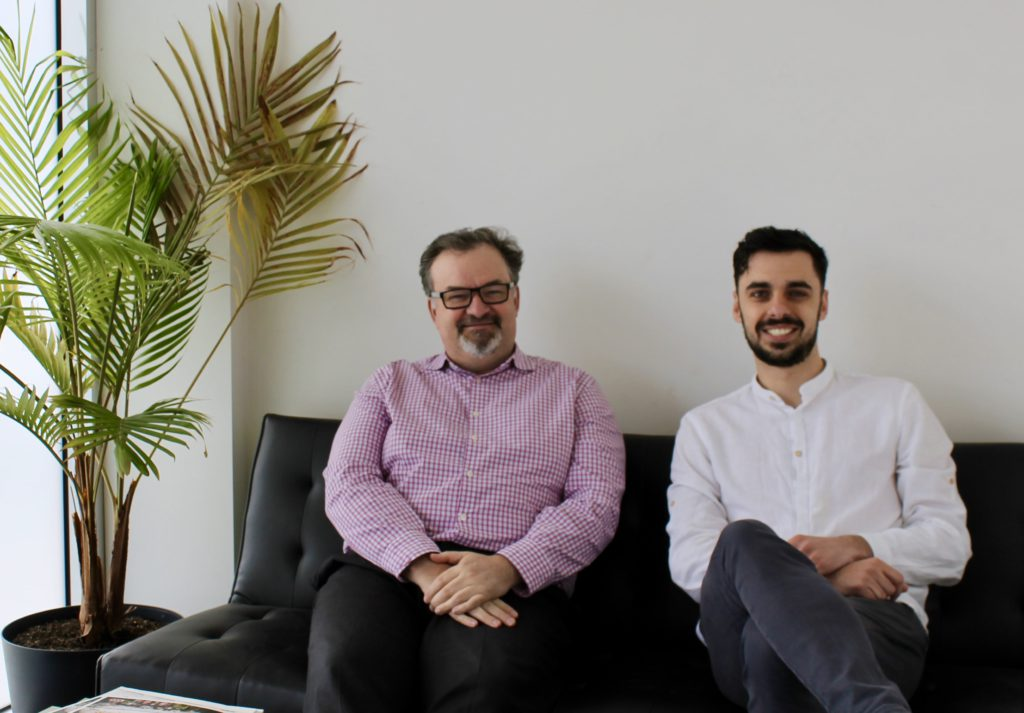 Jim Radford and Hugo Richard Co-founders at Dystech